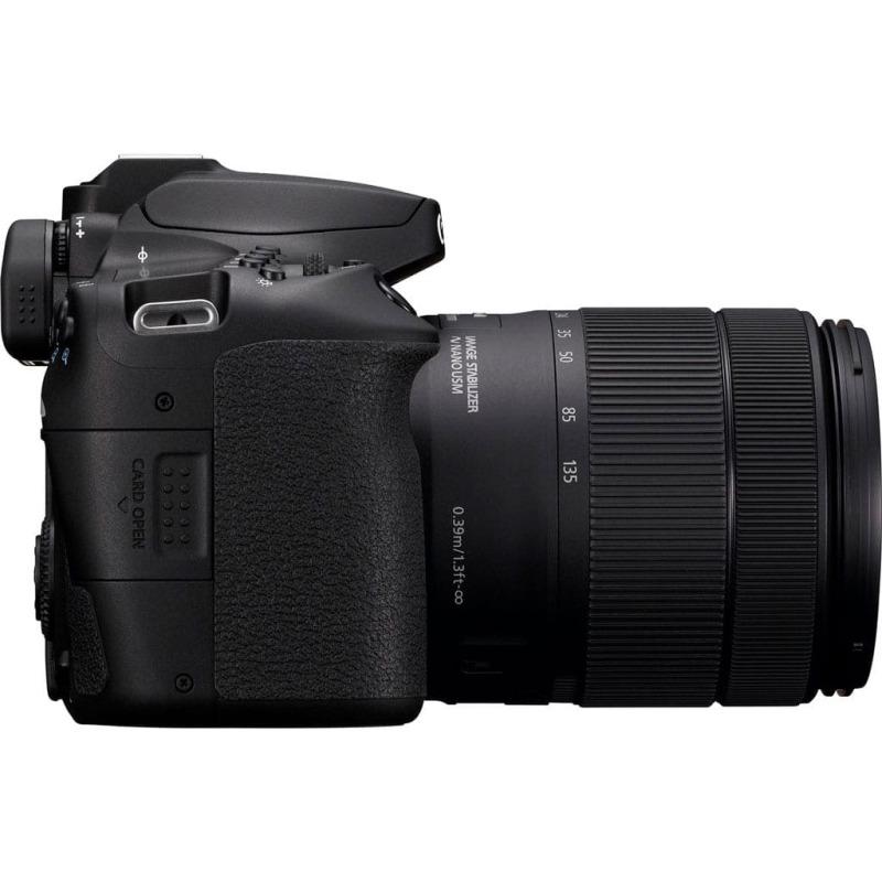 swiss pro camara reflex canon eos 90d ef s 18 135mm f3 5 5 6 is usm 3