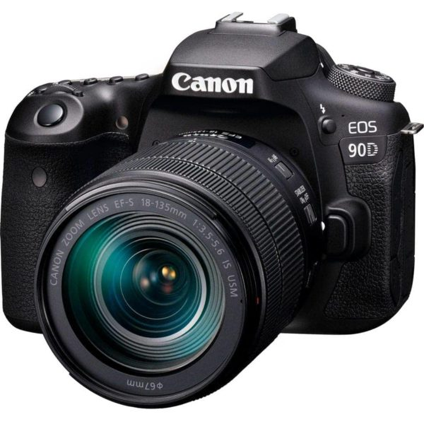 swiss pro camara reflex canon eos 90d ef s 18 135mm f3 5 5 6 is usm 4
