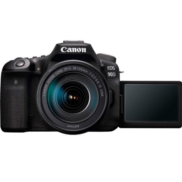 swiss pro camara reflex canon eos 90d ef s 18 135mm f3 5 5 6 is usm 5