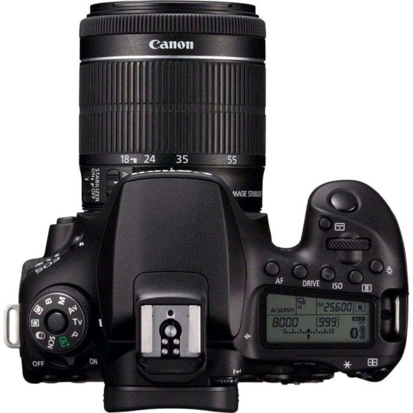 swiss pro ccamara reflex canon eos 90d ef s 18 55mm f4 5 6 is stm 4