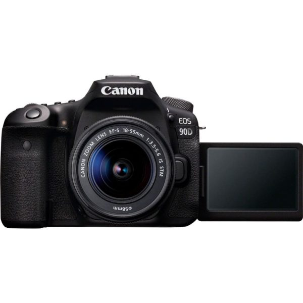 swiss pro ccamara reflex canon eos 90d ef s 18 55mm f4 5 6 is stm 5