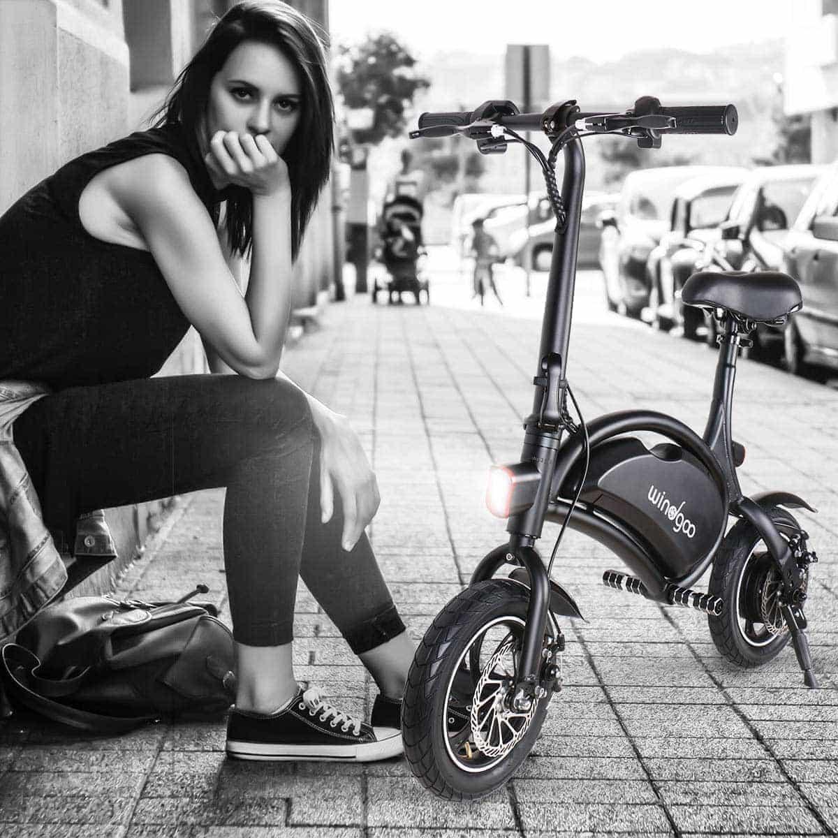 swiss pro mini moto electrica 6ah windgoo b15e 7
