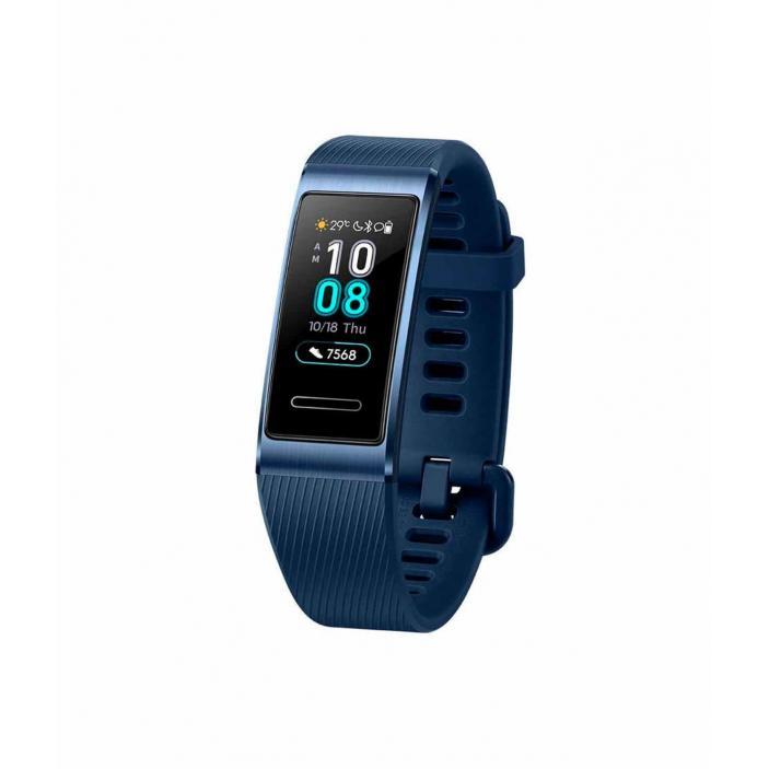swiss pro smart bracelet huawei band 3pro gps 0003 azul