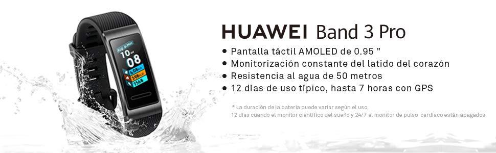 swiss pro smart bracelet huawei band 3pro gps pub 7