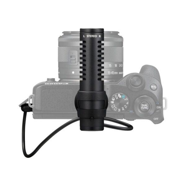swisspro microfono canon dm e100 estereo 4