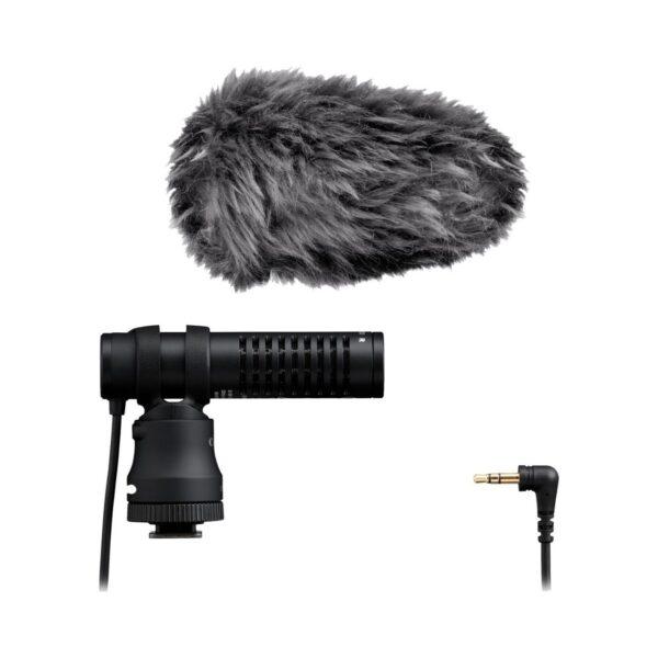 swisspro microfono canon dm e100 estereo 5