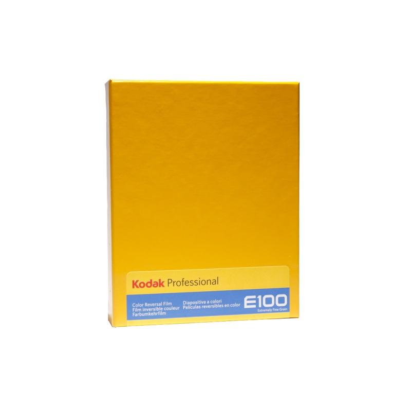 swisspro pelicula diapositiva color kodak ektachrome e100 4x5 10 hojas 0000
