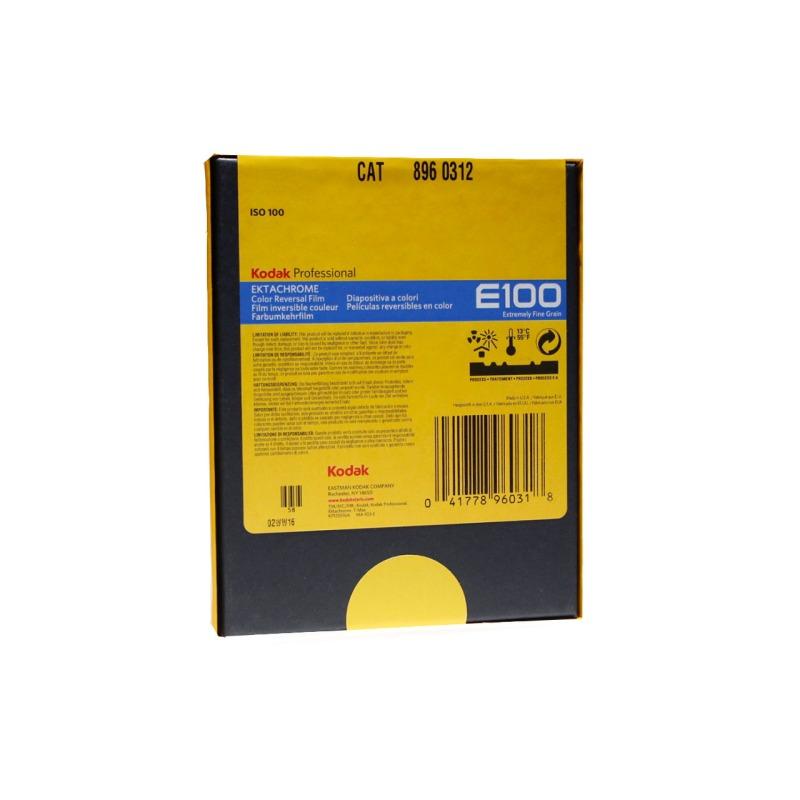 swisspro pelicula diapositiva color kodak ektachrome e100 4x5 10 hojas 0001