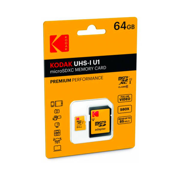 swisspro tarjeta memoria sdxc micro 64gb kodak 20 mb s c10