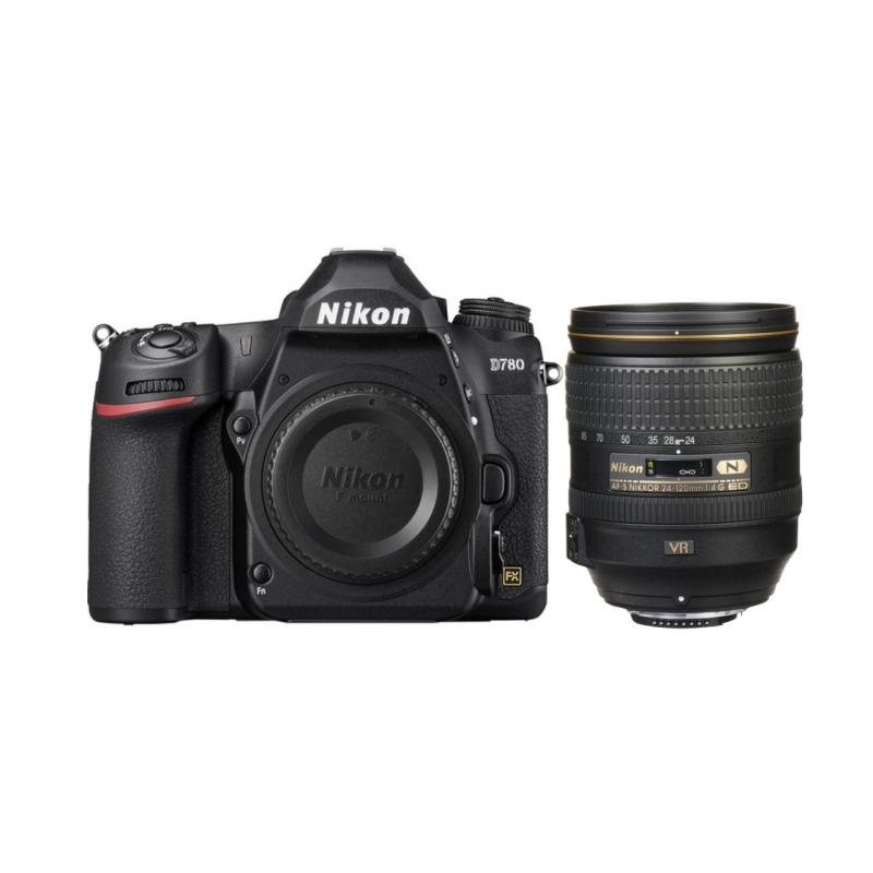 Camara Reflex - Nikon D780 Objetivo 24/120 G VR F4 SD2