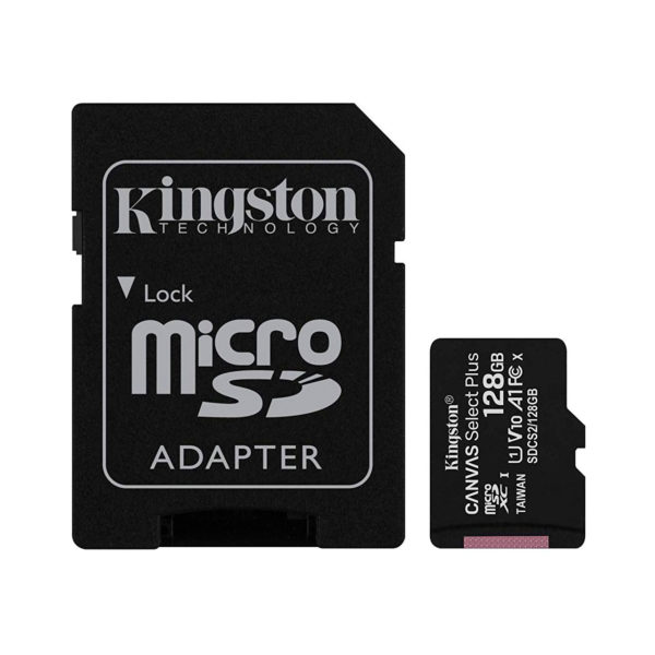 swisspro tarjeta memoria sdhc micro kingston canvas select plus 100 mb s c10 uhs i u1 0000 SDCS2 128GB