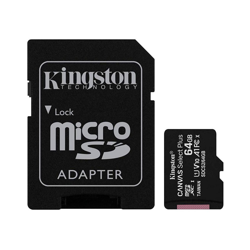 swisspro tarjeta memoria sdhc micro kingston canvas select plus 100 mb s c10 uhs i u1 0001 SDCS2 64GB