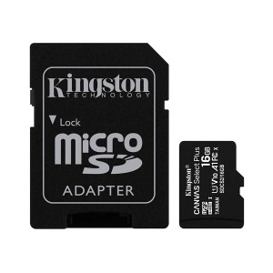 swisspro tarjeta memoria sdhc micro kingston canvas select plus 100 mb s c10 uhs i u1 0003 SDCS2 16GB