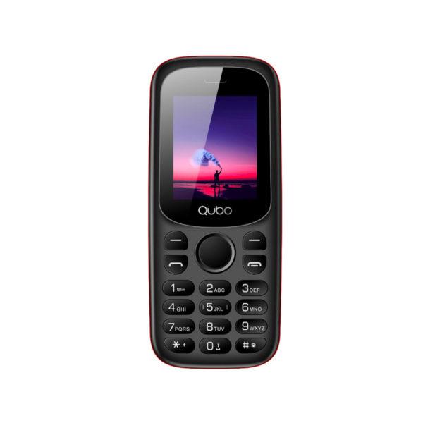 swisspro telefono movil qubo x 129rd rojo 0005 X129RD