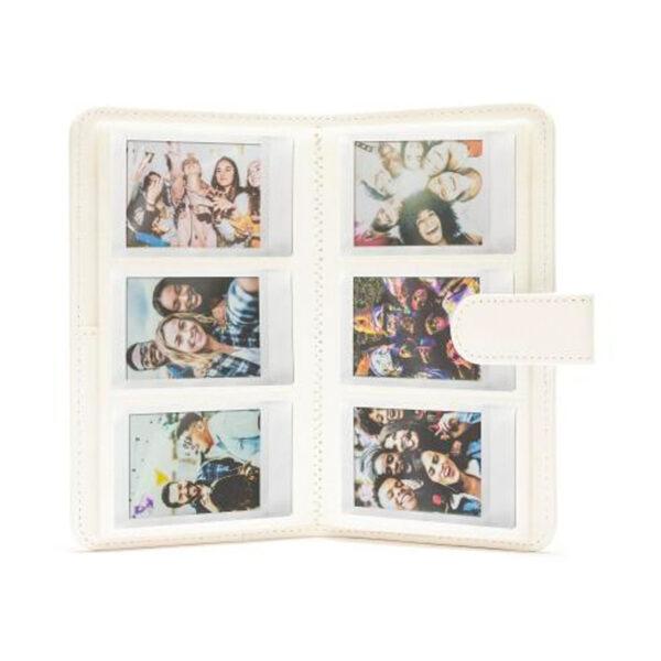 swisspro album slip in fuji para instax mini 11 108 fotos ice white 0000 70100146241