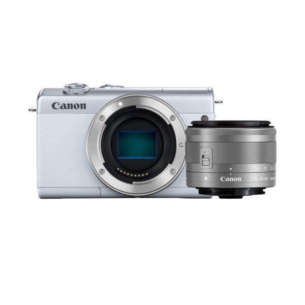 swisspro camara evil canon eos m200 ef m 15 45mm is stm blanca 0013 3700c031 eos m200 01
