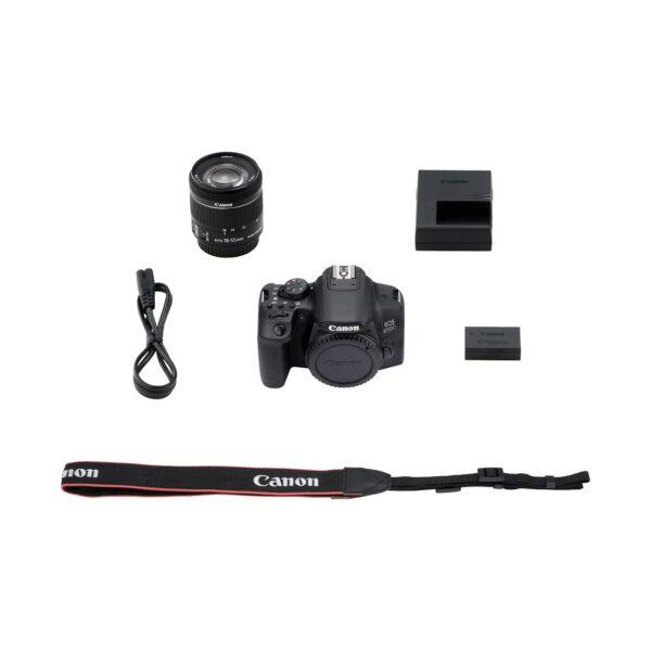 swisspro camara reflex canon eos 850d ef s 18 55mm is stm 0013 3925C002