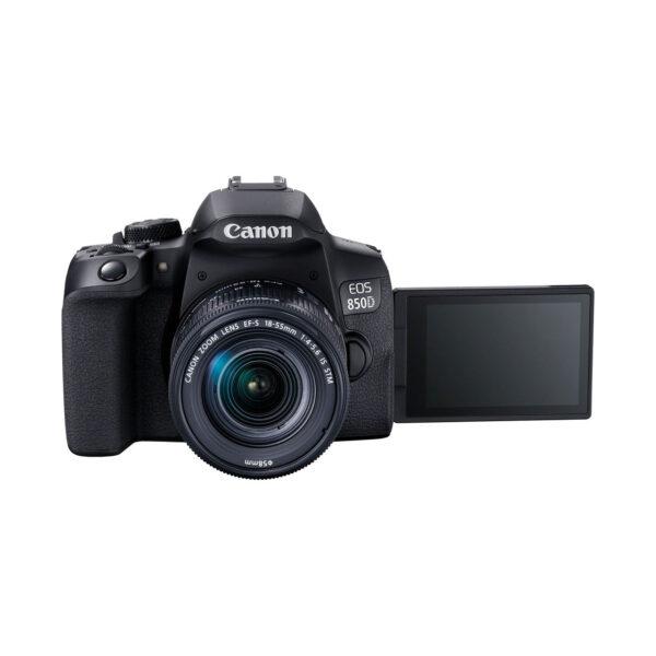swisspro camara reflex canon eos 850d ef s 18 55mm is stm 0016 3925C002