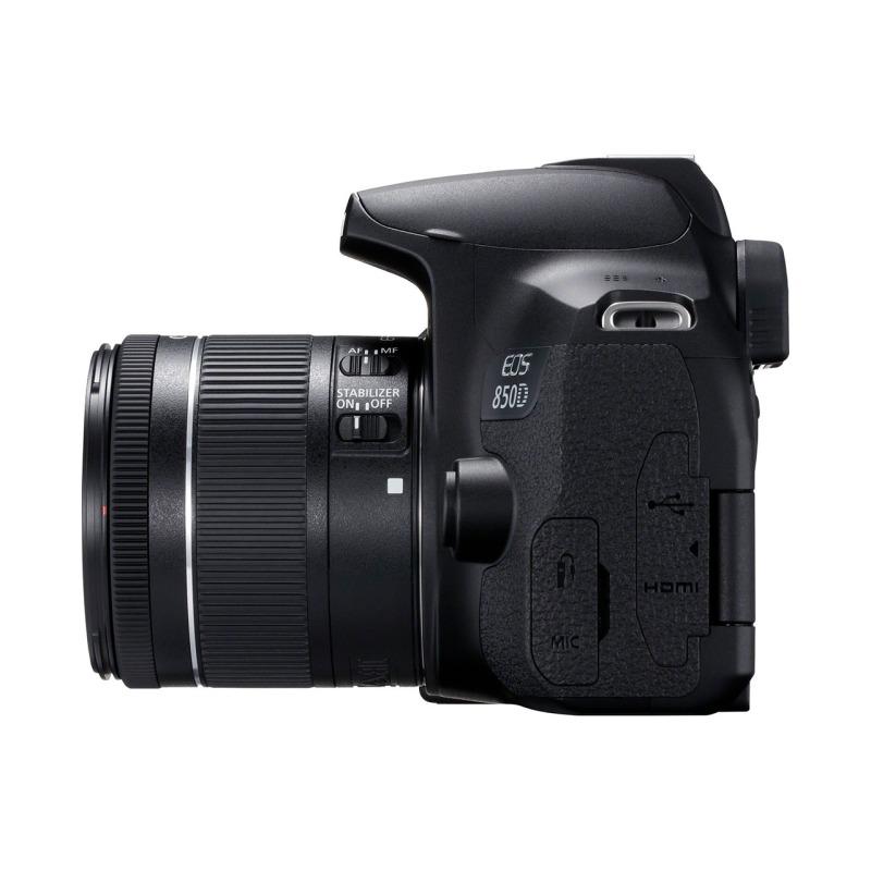 swisspro camara reflex canon eos 850d ef s 18 55mm is stm 0019 3925C002