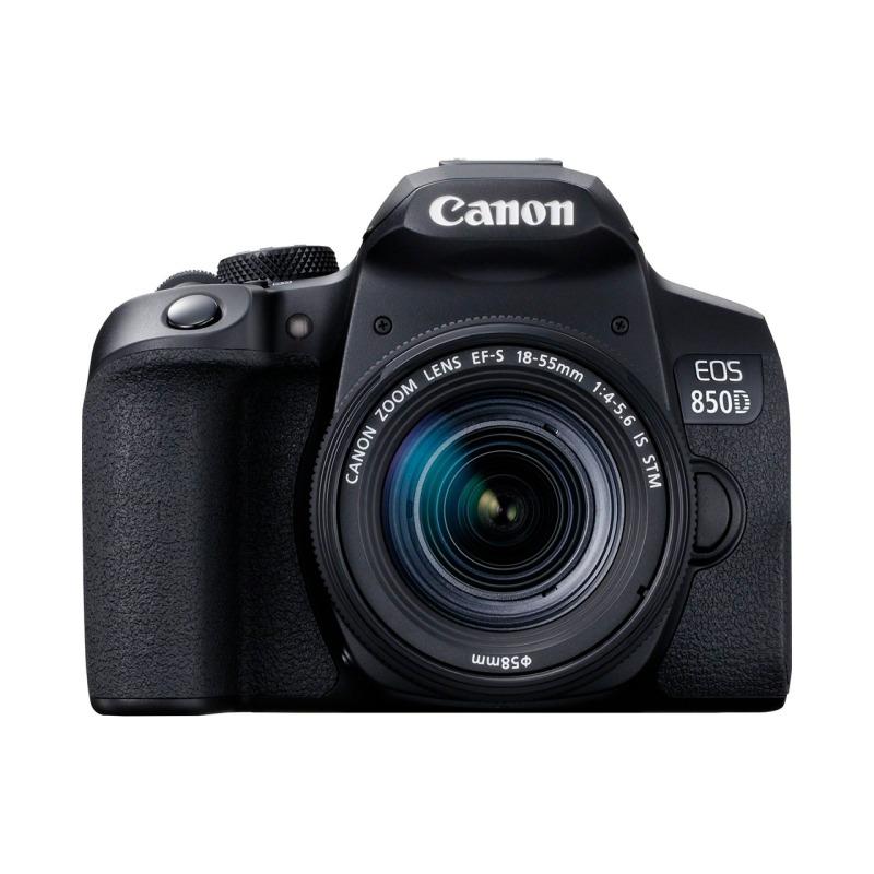 swisspro camara reflex canon eos 850d ef s 18 55mm is stm 0022 3925C002