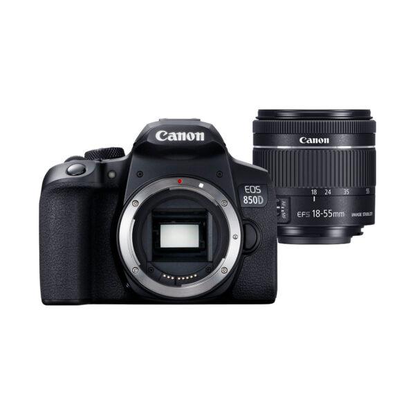 swisspro camara reflex canon eos 850d ef s 18 55mm is stm 0023 3925C002