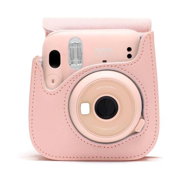 swisspro funda fuji para instax mini 11 blush pink 0007 70100146236