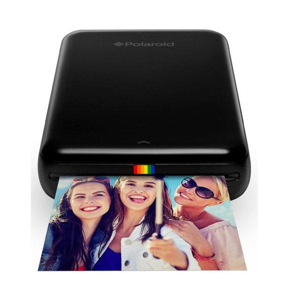 swisspro impresora movil polaroid zip negra incluye papel pack 10 fotos 0010 840102108972