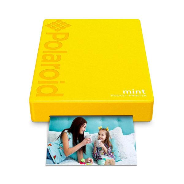 swisspro impresora polaroid mint mobile amarilla incluye papel pack 10 fotos 0006 840102198676