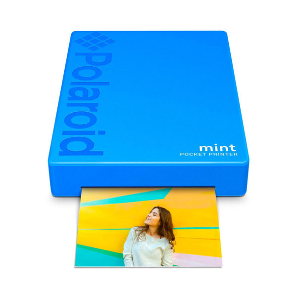 swisspro impresora polaroid mint mobile azul incluye papel pack 10 fotos 0005 840102198669