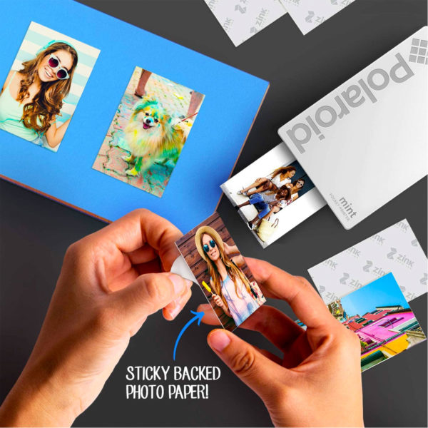 swisspro impresora polaroid mint mobile blanca incluye papel pack 10 fotos 0004 840102198645