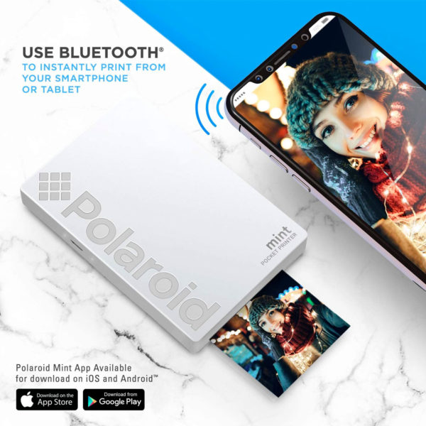 swisspro impresora polaroid mint mobile blanca incluye papel pack 10 fotos 0005 840102198645
