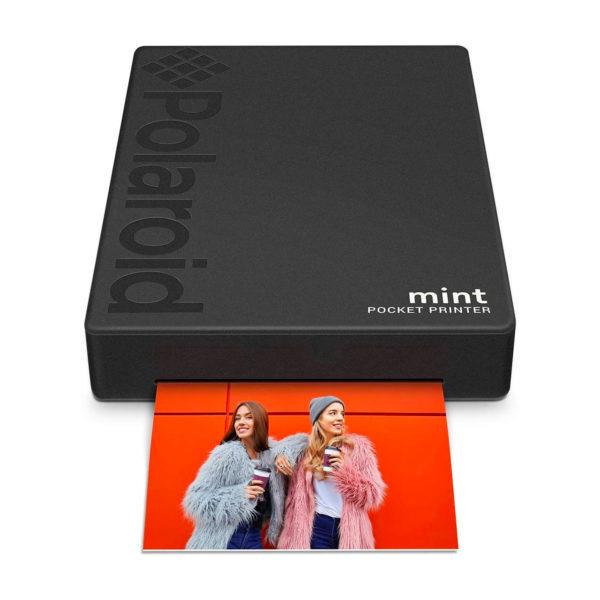 swisspro impresora polaroid mint mobile negra incluye papel pack 10 fotos 0006 840102198652