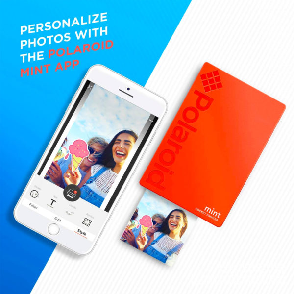 swisspro impresora polaroid mint mobile roja incluye papel pack 10 fotos 0001 840102198683