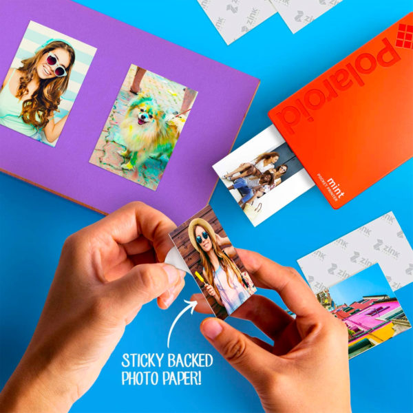 swisspro impresora polaroid mint mobile roja incluye papel pack 10 fotos 0003 840102198683
