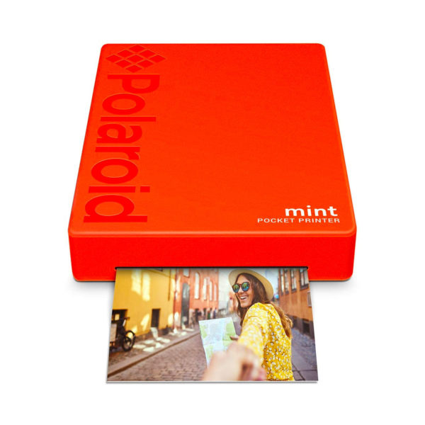 swisspro impresora polaroid mint mobile roja incluye papel pack 10 fotos 0005 840102198683