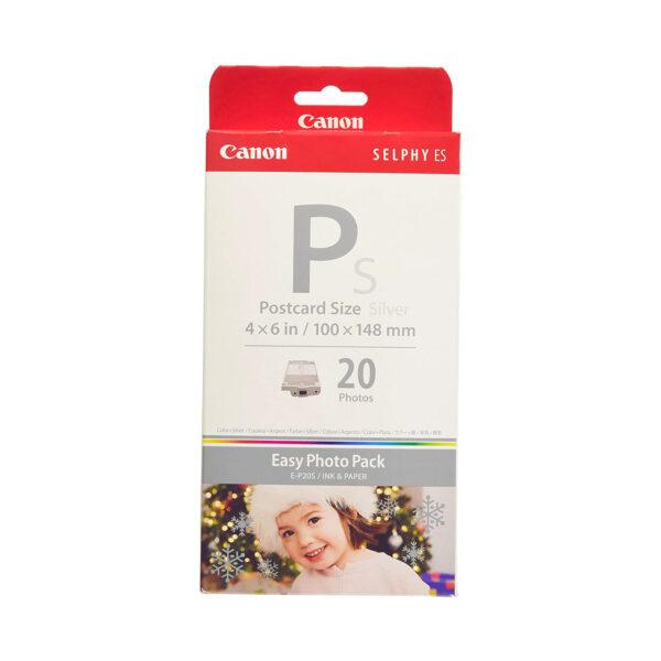 swisspro papel termico canon easy photo e p20s 10x15 20 hojas es3 es30 silver 0001 2365B001AA