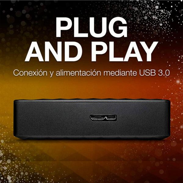 swisspro disco duro seagate expansion portable 2tb usb 3 0 25 pulg negro 0001 STEA4000400