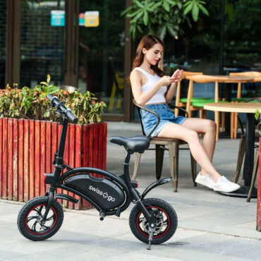 bicicleta eléctrica swiss-pro