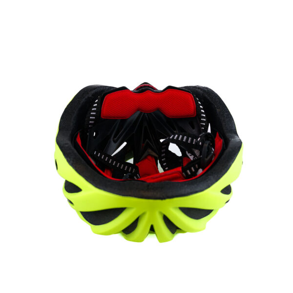 swisspro casco con luz de seguridad amarillo 0009 SWI600219