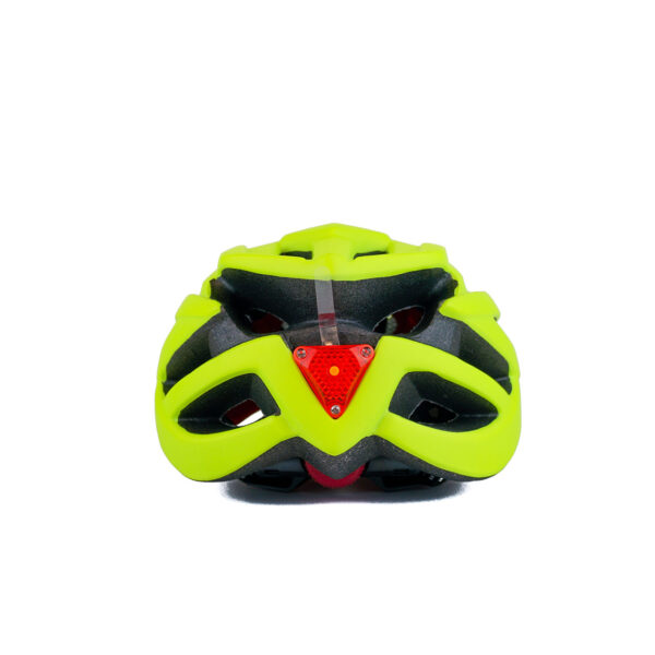 swisspro casco con luz de seguridad amarillo 0012 SWI600219