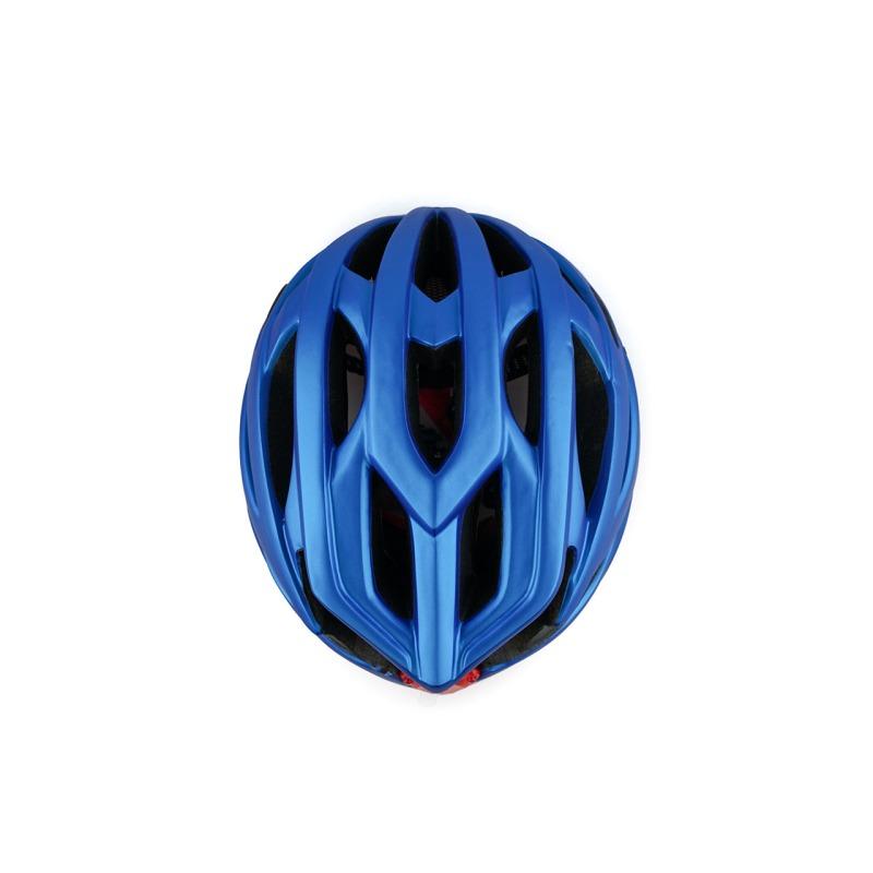 swisspro casco con luz de seguridad azul 0017 SWI600218