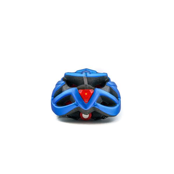 swisspro casco con luz de seguridad azul 0018 SWI600218