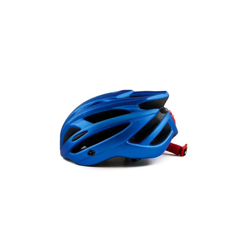 swisspro casco con luz de seguridad azul 0019 SWI600218