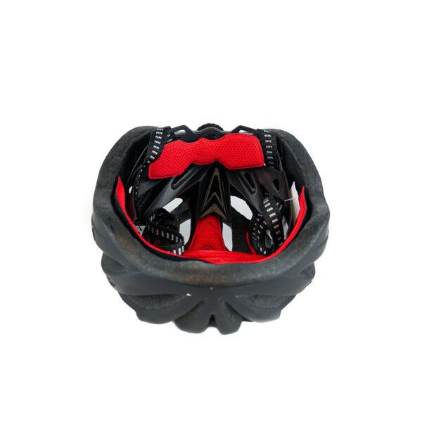 swisspro casco con luz de seguridad negro 0003 SWI600220
