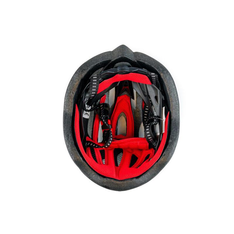 swisspro casco con luz de seguridad negro 0004 SWI600220