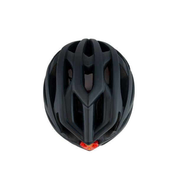 swisspro casco con luz de seguridad negro 0005 SWI600220