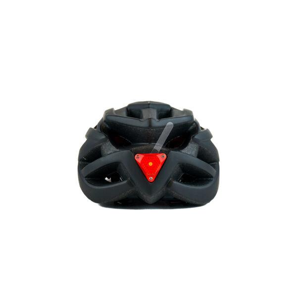 swisspro casco con luz de seguridad negro 0006 SWI600220