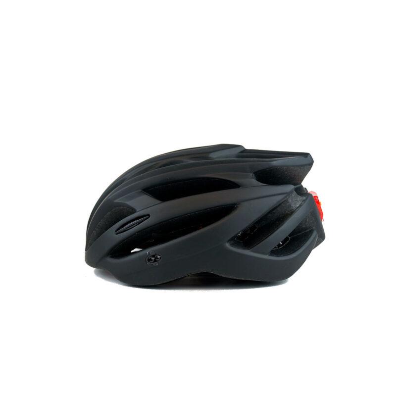 swisspro casco con luz de seguridad negro 0007 SWI600220