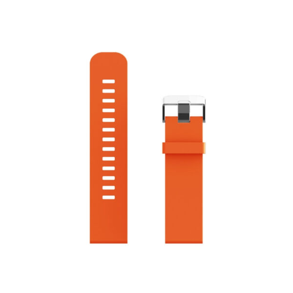 swisspro correa silicona swissgo naranja 20 mm para bern arosa y otros
