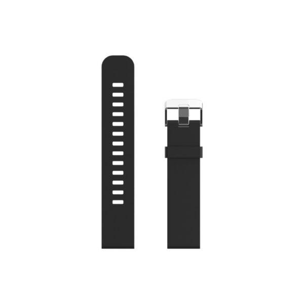 swisspro correa silicona swissgo negra 20 mm para bern arosa y otros
